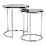 Zuo Modern Rem Coffee Table Sets Black & Stainless
