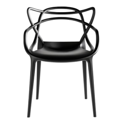 Fine Mod Imports Kartell Masters Dining Chair Set of 2