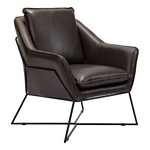 Zuo Modern Lincoln Dining Chair Brown