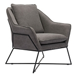 Zuo Modern Lincoln Dining Chair Gray