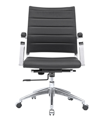 Sopada Conference Office Chair Mid Back in Black