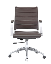 Sopada Conference Office Chair Mid Back in Dark Brown