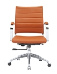 Sopada Conference Office Chair Mid Back in Light Brown
