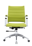 Sopada Conference Office Chair Mid Back in Lime Green