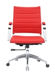 Sopada Conference Office Chair Mid Back in Red