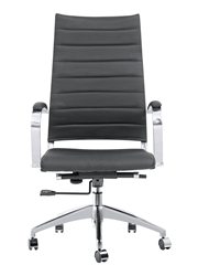 Fine Mod Imports Sopada Conference Office Chair High Back in Black
