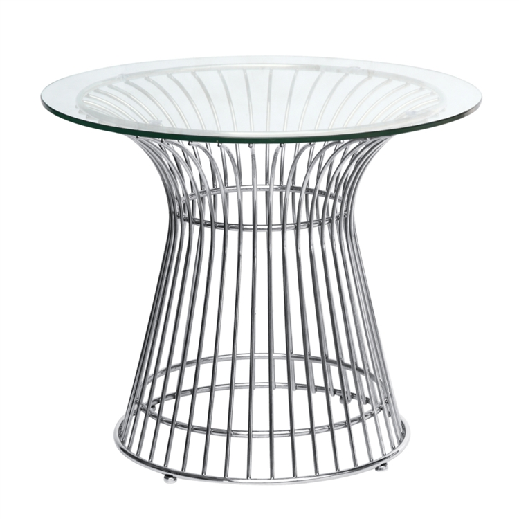 Fine Mod Imports Wire Side Table