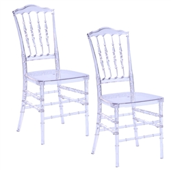 Fine Mod Imports Acra Dining Chair Set of 2