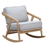 Fine Mod Imports Solo Rocker Arm Chair