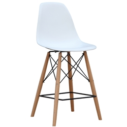 Fine Mod Imports WoodLeg Counter Chair