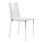 Zuo Modern Alex Dining Chair White