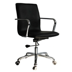 Fine Mod Imports Confreto Conference Office Chair Mid Back