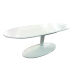 Fine Mod Imports Squaval Fiberglass Coffee Table