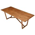 Fine Mod Imports Tricolor Dining Table