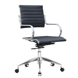 Fine Mod Imports Flees Office Chair Mid Back