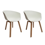 Fine Mod Imports Shen Odger Dining Chair Set of 2
