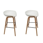 Fine Mod Imports Shen Odger Counter Stool set of 2