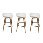 Fine Mod Imports Shen Odger Counter Stool set of 3