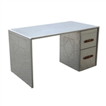 Fine Mod Imports Riveted Desk