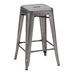 Zuo Modern Marius Counter Stool Gunmetal