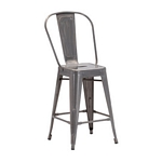 Zuo Modern Elio Counter Chair Gunmetal