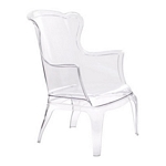 Zuo Modern Vision Chair Transparent