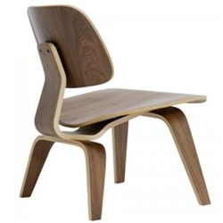 Fine Mod Imports Molded Plywood Lounge Chair
