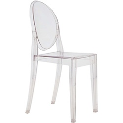 Fine Mod Imports Philippe Starck Style Victoria Ghost Chair