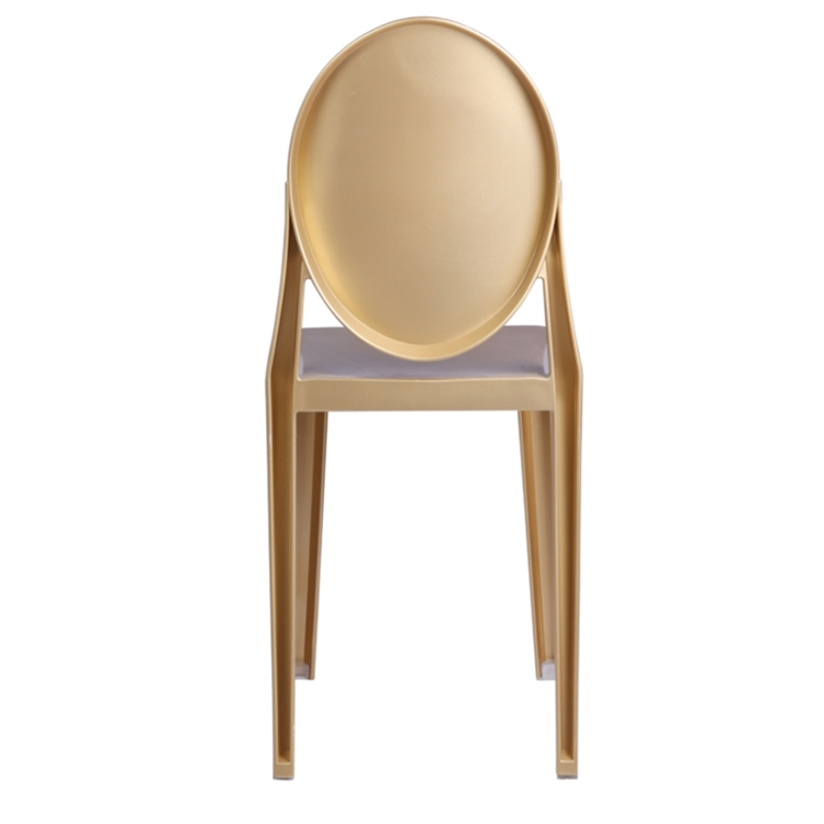 Philippe starck style victoria ghost chairs set of 2 gold for Philippe starck style