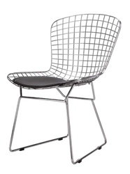 Fine Mod Imports Bertoia Style Wire Side Chair