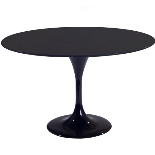Eero Saarinen Style Tulip Table 36 In Black
