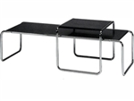 Fine Mod Imports Marcel Breuer Nesting Table Set
