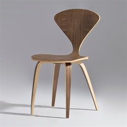 Fine Mod Imports Normen Chair Modern Wooden Side Chair
