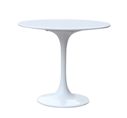 Fine Mod Imports Eero Saarinen Style Tulip End Side Table