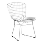 Zuo Modern Wire Dining Chair Chrome