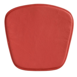 Zuo Modern Wire/Mesh Chair Cushion Red