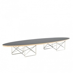 Fine Mod Imports Surfboard Wire Wood Coffee Table