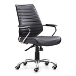 Zuo Modern Enterprise Low Back Office Chair Black