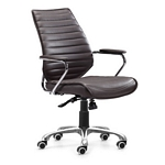 Zuo Modern Enterprise Low Back Office Chair Esp