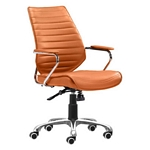 Zuo Modern Enterprise Low Back Office Chair Terra