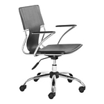 Zuo Modern Trafico Office Chair Black