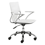 Zuo Modern Trafico Office Chair White