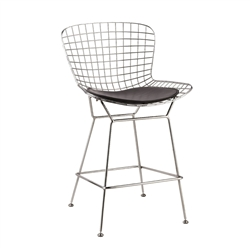 Fine Mod Imports Bertoia Wire Style Counter Stool Chair