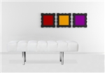 Fine Mod Imports Classic Leather Bench 2 Seater in White Leather