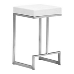 Zuo Modern Darwen Counter Stool White