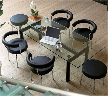 LC6 Dining Table. Corbusier Lc6 Dining Table. Home Design Ideas