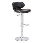 Zuo Modern Fly Bar Chair Black