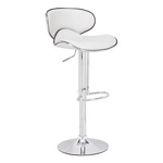 Zuo Modern Fly Bar Chair White
