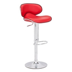 Zuo Modern Fly Bar Chair Red