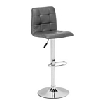 Zuo Modern Oxygen Bar Chair Gray